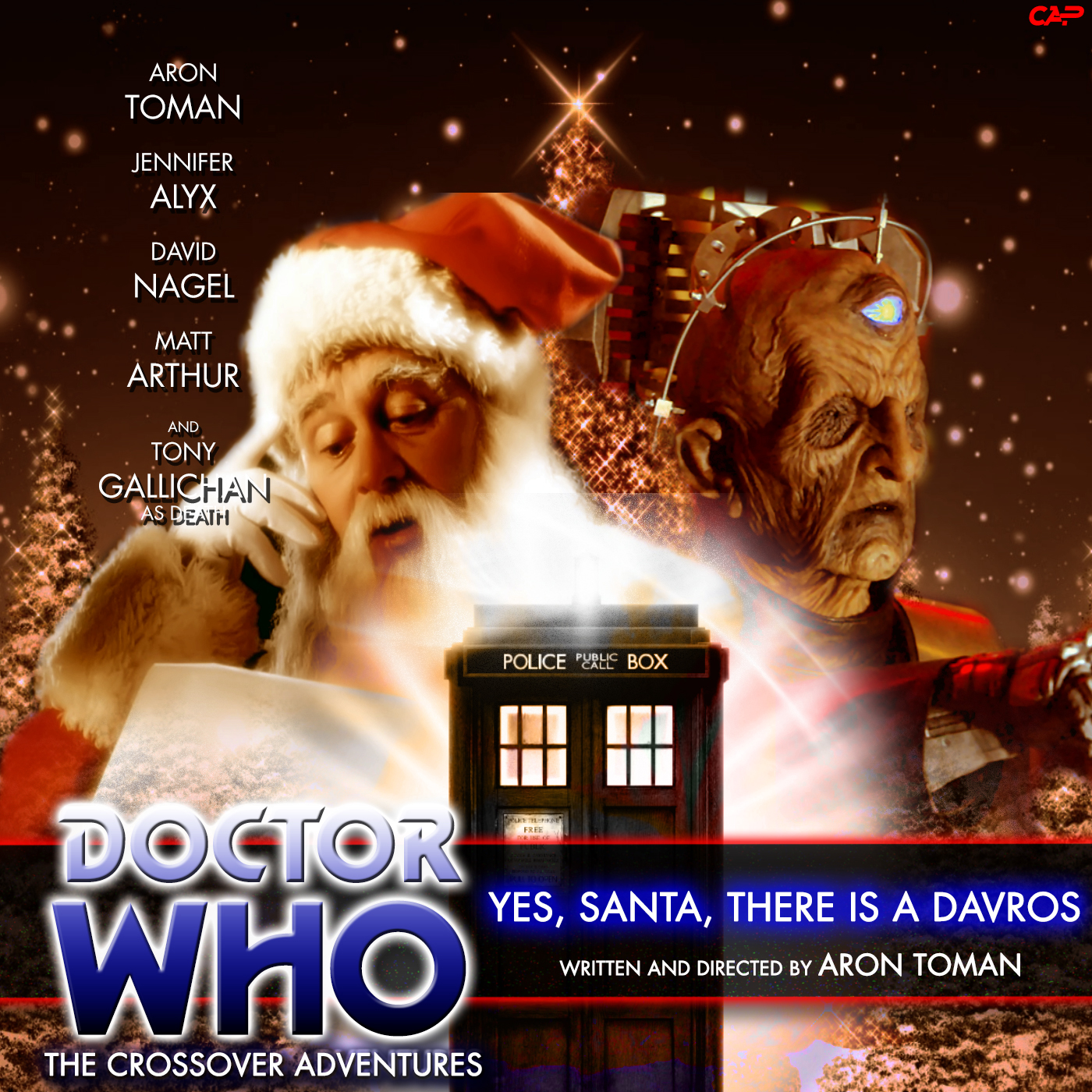 Doctor Who: Yes, Santa, There Is A Davros cover art