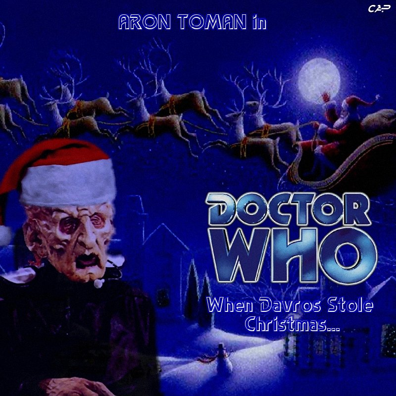 When Davros Stole Christmas... - Crossover Adventure Productions