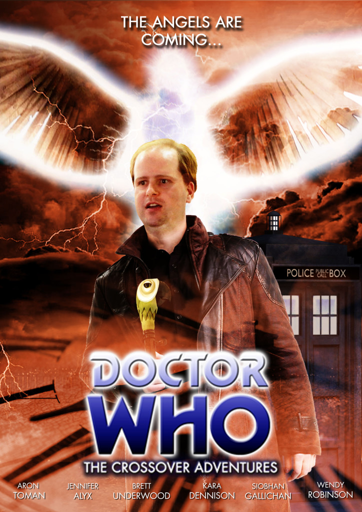 Doctor Who - The Angel of Blinding Light poster with Aron Toman